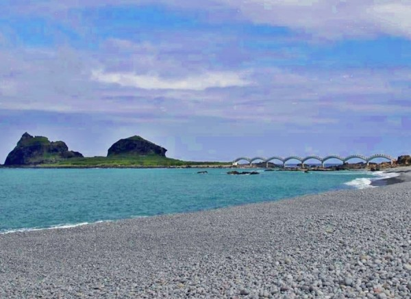 Sanxiantai is composed of offshore islands and coral reefs. (Image: Courtesy of Pingchien Chang)