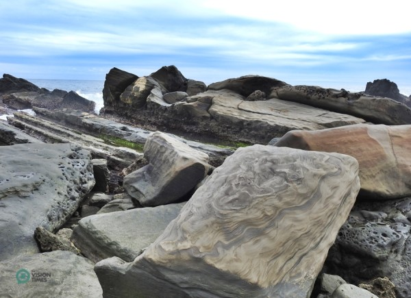 Xiaoyeliu offers a rich variety of fascinating rock formations similar to those found at Yehliu Geopark in northern Taiwan. (Image: Billy Shyu / Vision Times)