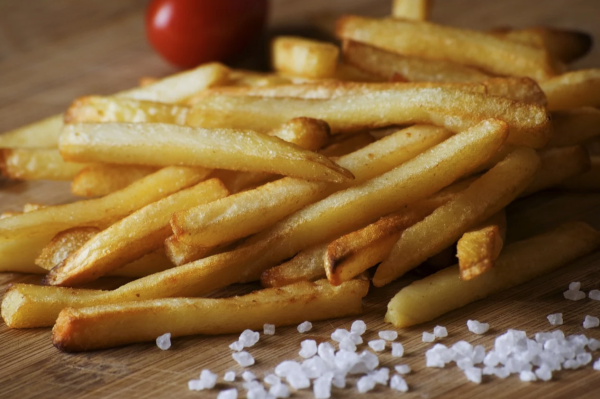 It's easy to make french fries (chips) at home. (Image: Pixabay / CC0 1.0)