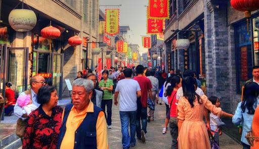 Street scene in Beijing