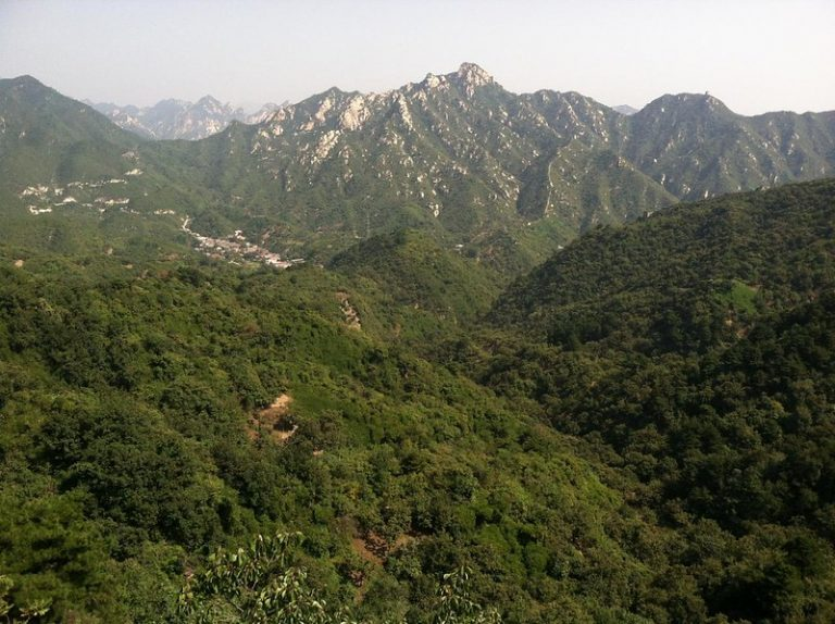 Mountains in China.