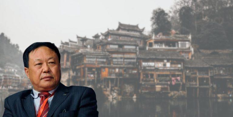 Chinese entrepreneur Sun Dawu.