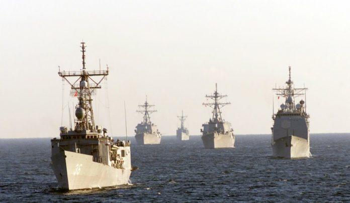 A modern navy requires a large military budget
