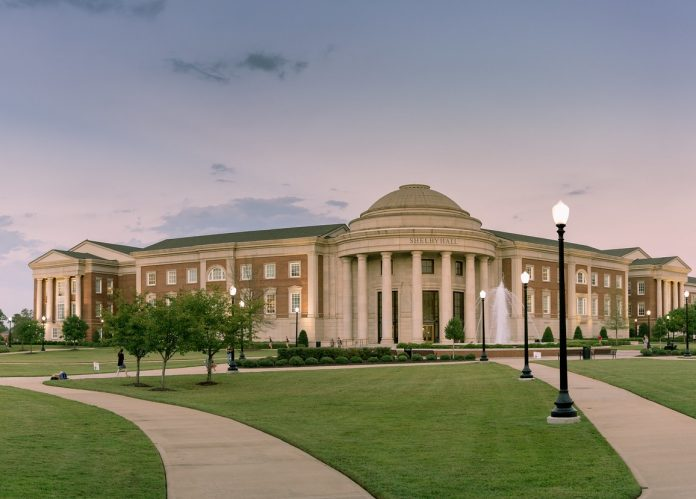 The University of Alabama pictured in 2017. (Image: Jim Bauer via Flickr CC BY-ND 2.0)