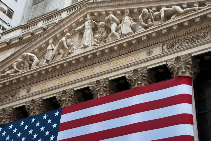 The New York Stock Exchange Building in New York City, New York