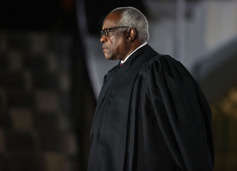 Supreme Court Associate Justice Clarence Thomas was joined by Justices Neil Gorsuch and Samuel Alito in dissenting the High Court's decision to not hear a legal challenge to Pennsylvania's Mail-in Ballot Deadline Extension in the 2020 Presidential Election