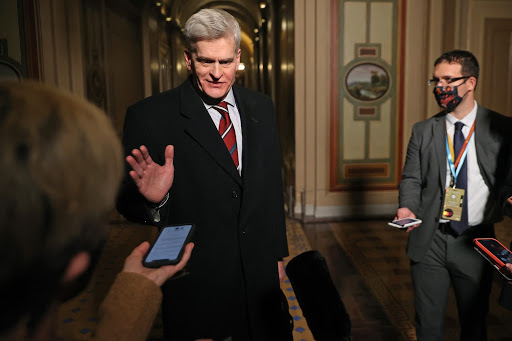 Senator Bill Cassidy Crossed the Floor to Vote to Proceed with Impeachment