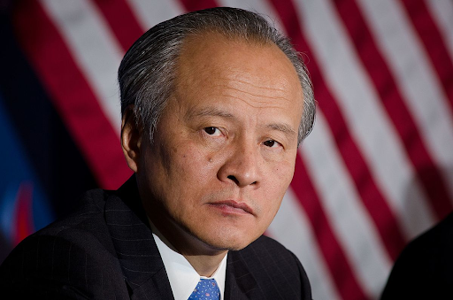 Ambassador Cui Tiankai, in a CNN interview aired last Sunday, added to Beijing's increasing demand for the World Health Organization (WHO) to investigate the origin of the SARS-CoV-2 novel coronavirus in the U.S., without offering any evidence that would suggest how the virus may have originated from there.