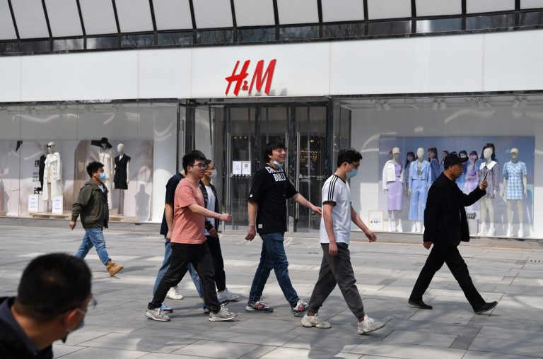 H&M store in Beijing China