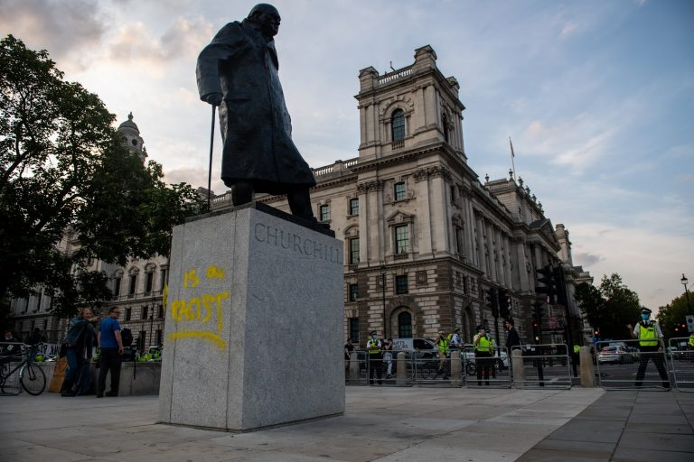 British Prime Minister Boris Johnson will soon be enacting legislation that will send people who vandalize or desecrate statues or memorials to prison for a period of up to ten years and/or fines of up to £2,500.