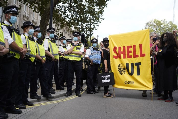 Some people say that the UK is moving towards a 'police state' after the parliament passed a bill that puts severe restrictions on the right to protest.