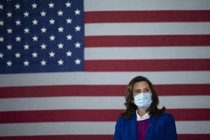 Michigan Governor Democrat Gretchen Whitmer is being accused of paying 'hush money' to the former health department director Robert Gordon.
