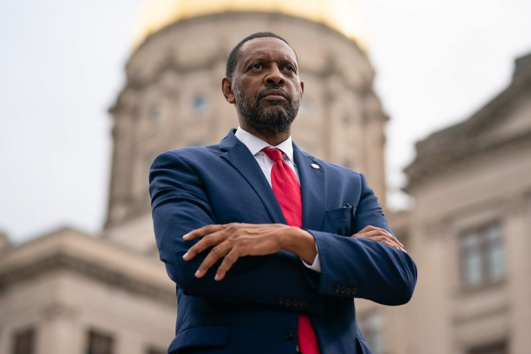 A staunch Democrat until last year, Vernon Jones left the party in January 2021 and joined the GOP.