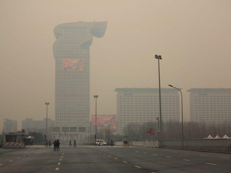 Sandstorm in Beijing