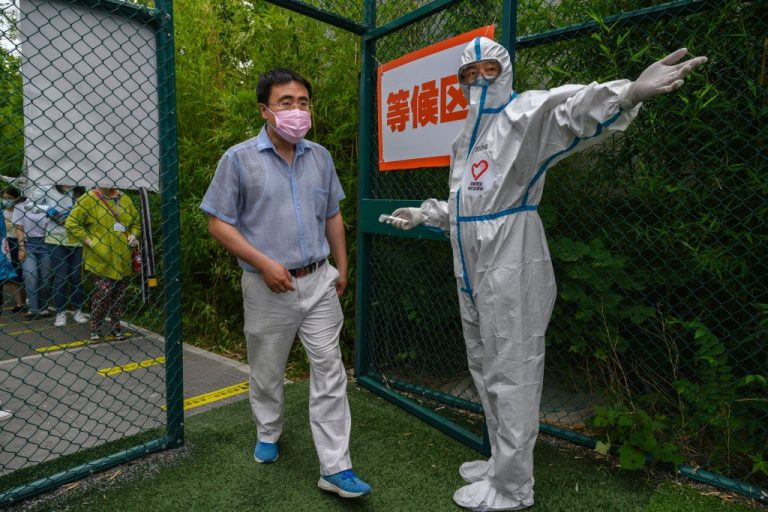 American diplomats in China were forced to undergo anal swabs for coronavirus testing.
