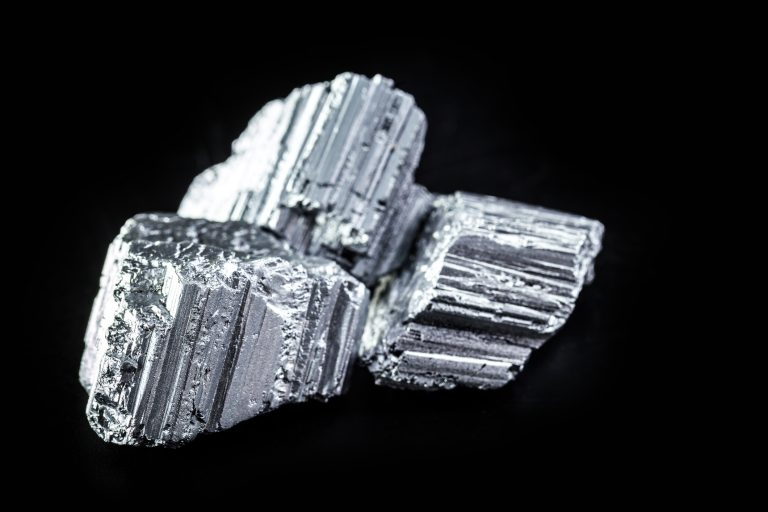 An image of Erbium, part of the group of rare earths.