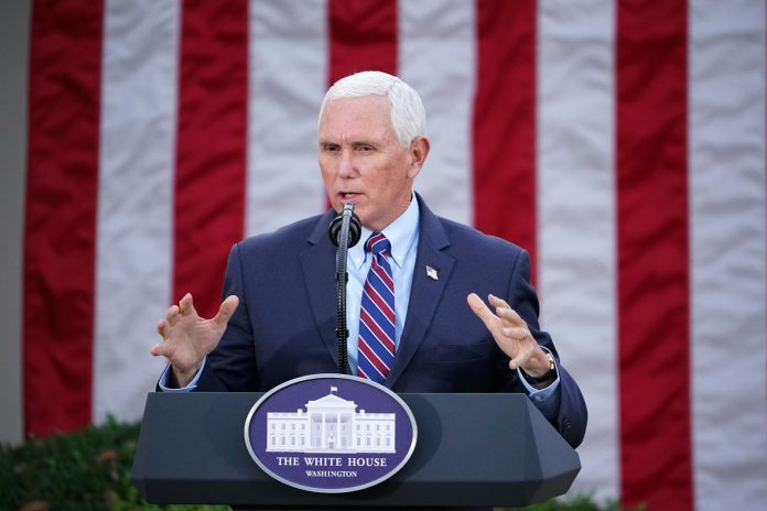 "Former Vice President Mike Pence, who has mainly been silent after exiting the White House, has criticized the Democrats for their proposed H.R. 1 bill or the ""For the People Act."""