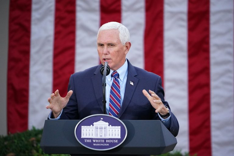 """Former Vice President Mike Pence, who has mainly been silent after exiting the White House, has criticized the Democrats for their proposed H.R. 1 bill or the """"For the People Act."""""""