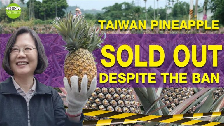 Taiwan-Pineapple-Sold-Out_Despite-China-Ban