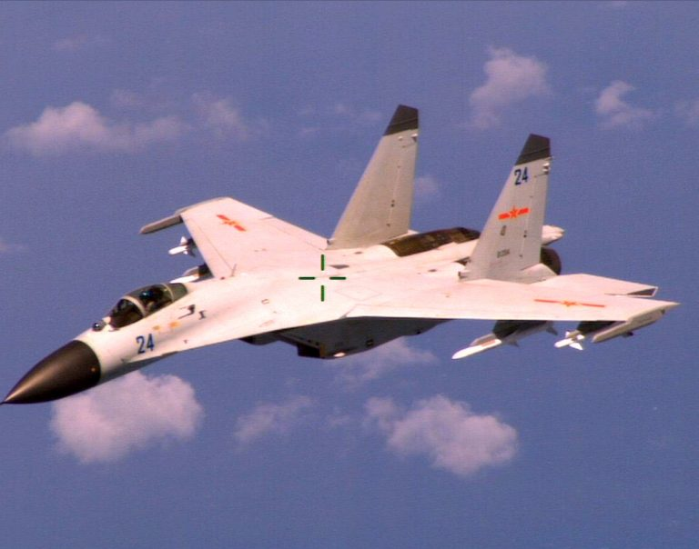 J-11 Chinese fighter jet, China-Taiwan relations