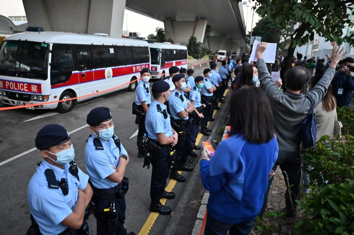 Hong Kong China politics protests democracy police