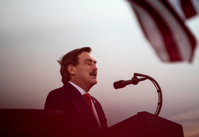 """Mike Lindell, CEO of MyPillow and an outspoken supporter of President Trump, has launched """"Frank,"""" a new social media platform positioned as a """"mix of YouTube and Twitter."""""""