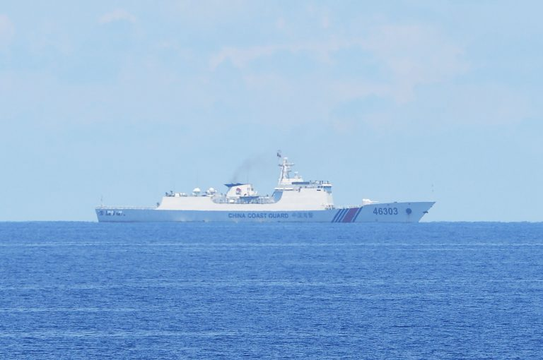 Chinese-coast-guard in the South China Sea ccp