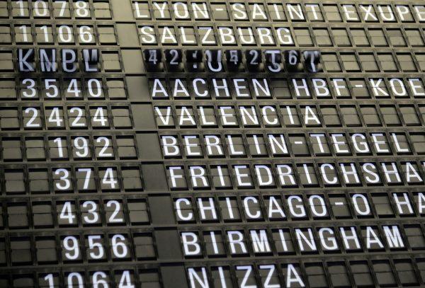La lista di controllo è stata creata dai dati raccolti all'aeroporto internazionale di Pudong a Shanghai. (Immagine: wal_172619 tramite Pixabay )