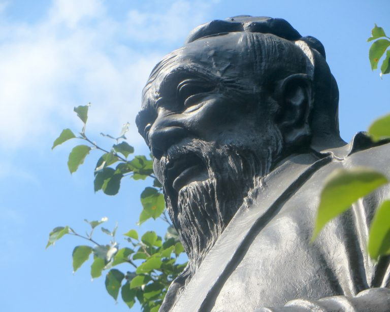 The great Chinese thinker Confucius founded the moral philosophy and political science of Confucianism 2500 years ago.