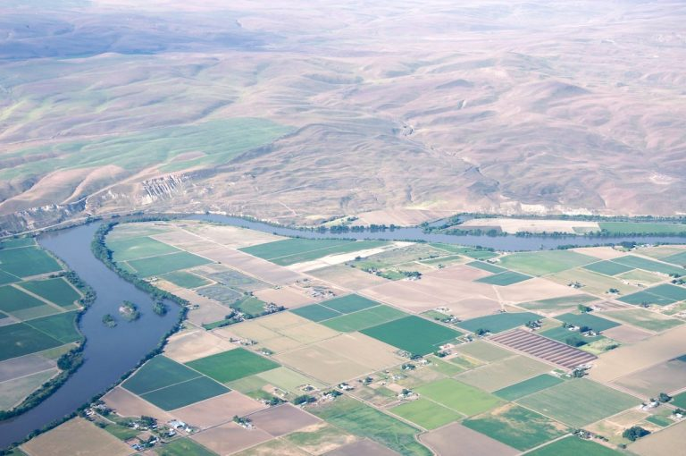 Frustrated by liberal policies, five Oregon counties have voted in support of efforts to shift the Oregon-Idaho border and join Idaho. Pictured is the Snake River that runs on the interstate border.