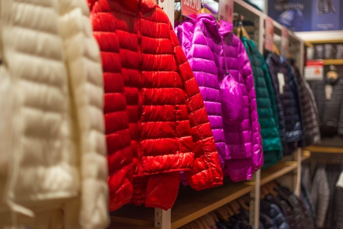 Down jackets should not be dry cleaned, but can be hand washed at home.