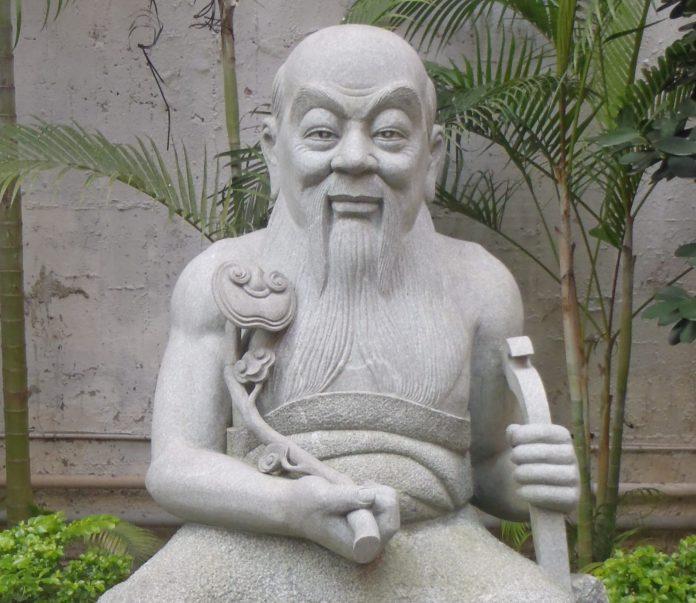 Il mitico sovrano cinese Shennong, o