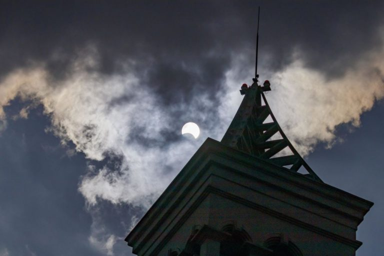 The partial solar eclipse is seen through clouds on 26th December, 2019 in Kunming, Yunnan, China. Joe Biden's update to Trump's 2020 Executive Order on Communist Chinese Military Companies has released the CCP's largest supercomputer maker, Sugon, from sanctions.
