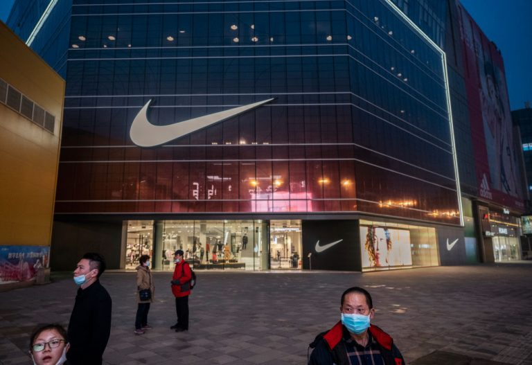 Chinese state media and social networking platforms called for boycotts of major Western brands, including Nike, after statements made by the companies in the past about Xinjiang cotton resurfaced online.