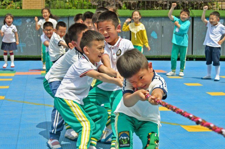 population china children