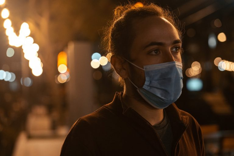 Professor Michie wants people to make wearing face masks a long-term habit.