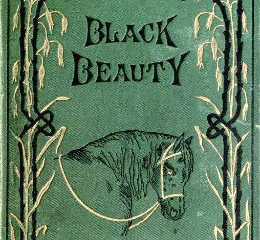 """copertina del libro """"Black Beauty"""""""