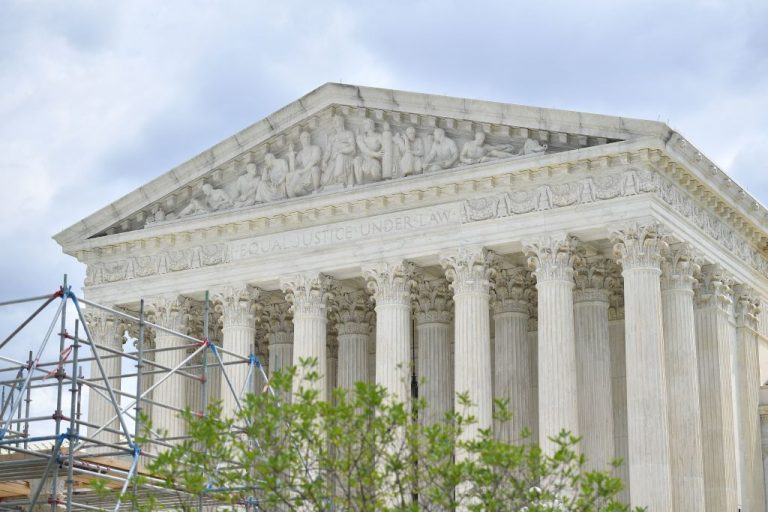 The U.S. Supreme Court is seen in Washington, D.C. on July 1, 2021. The High Court overturned a Ninth Circuit Federal Court of Appeals ruling that said Arizona's election integrity laws were racially discriminatory.