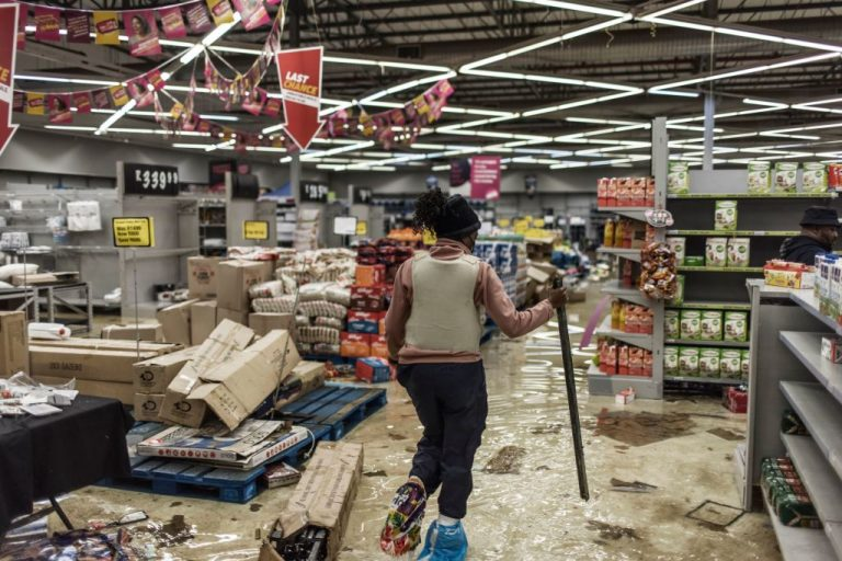 Stores in two South African provinces were ransacked for a fifth consecutive day, hours after President Cyril Ramaphosa deployed troops in a bid to quell unrest that has claimed over 70 lives. The premier of Gauteng province, which includes Johannesburg, said 10 bodies were found late on July 12 at a looted shopping centre in Soweto, on the city's outskirts.