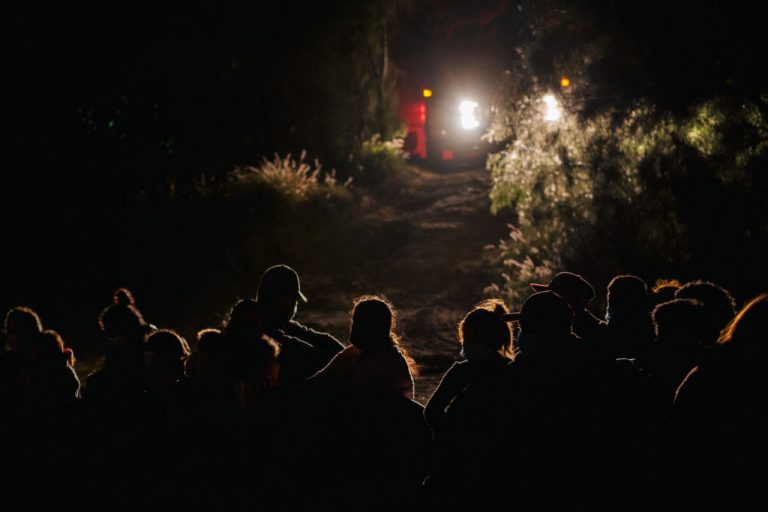 Border crossings by illegal immigrants surge to the highest levels since 2006.