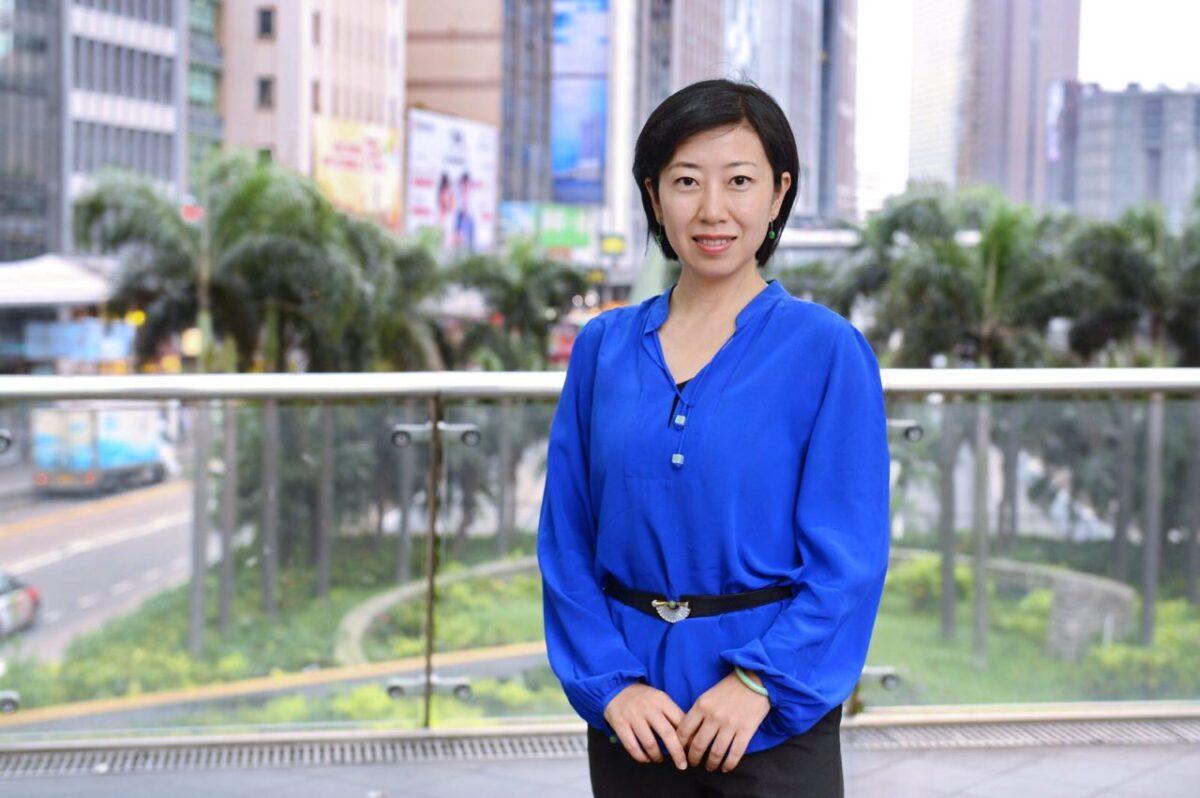 Sarah Liang a Hong Kong.