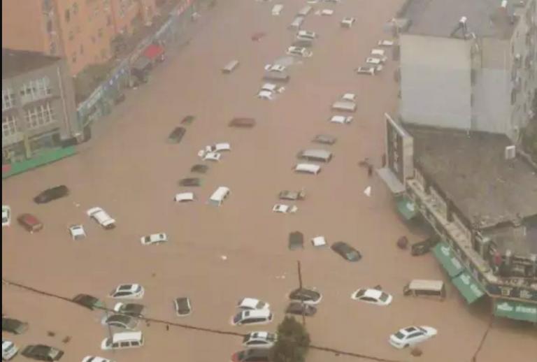 Zhengzhou_cars_floods_flooded