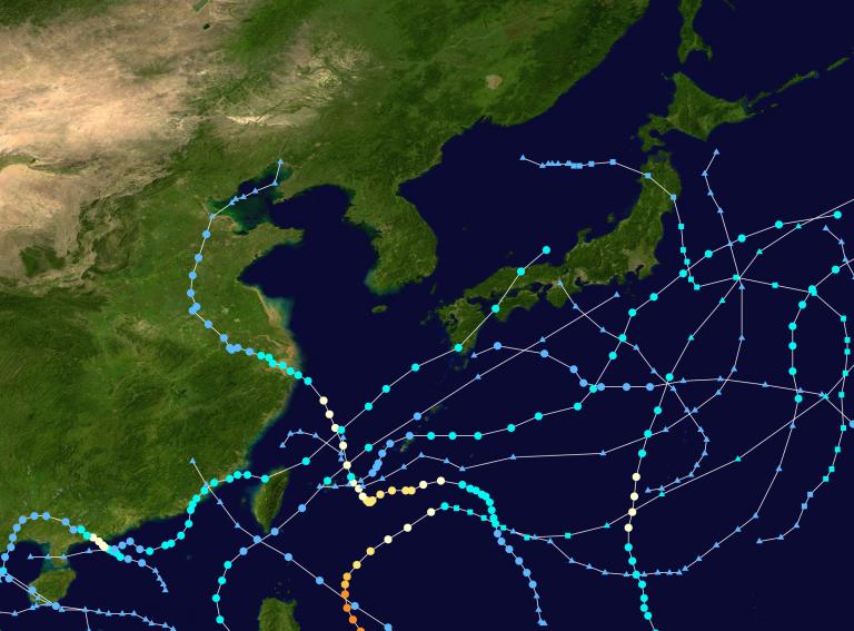 TyphoonLupit-SkippedTaiwanHitChina_Japan