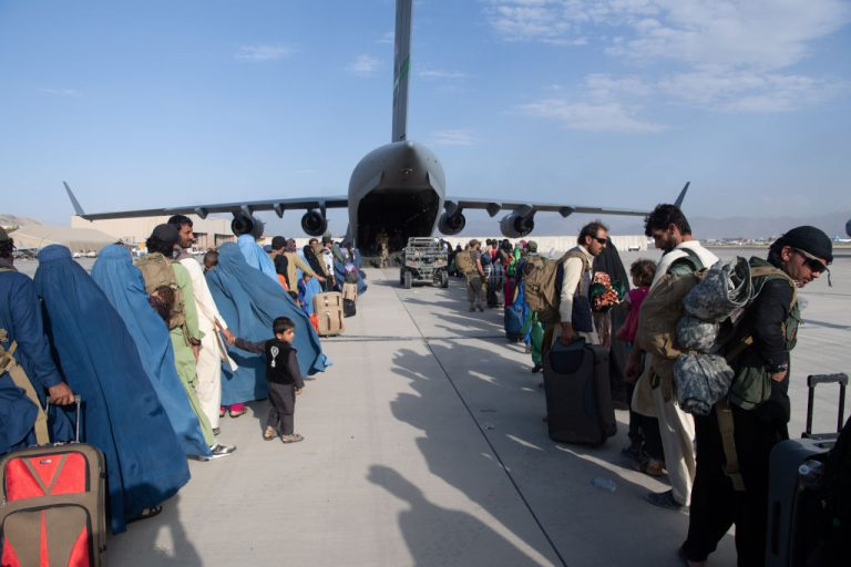 The United States and allies urged Afghans to leave Kabul airport, citing the threat of terrorist attacks.