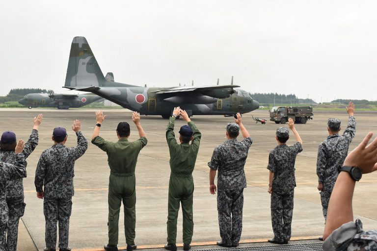 JAPAN-AFGHANISTAN-CONFLICT_C-130_plane_GettyImages