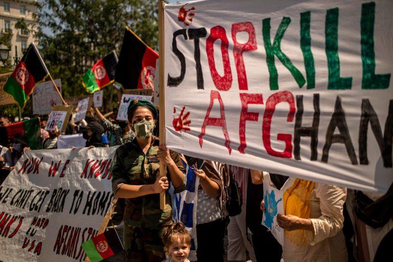 Afghans_protest_taliban_greece