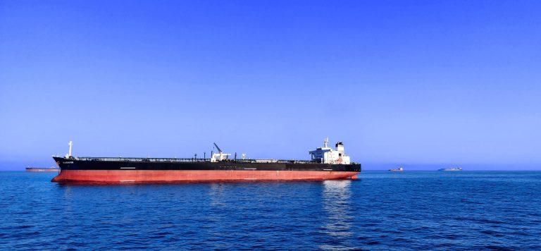Crimson Polaris broke into two, spilling oil into the ocean.