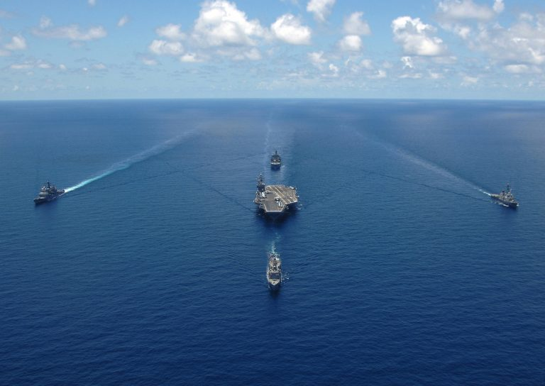 India plans on sending four warships to the South China Sea region to participate in joint exercises with foreign navies.