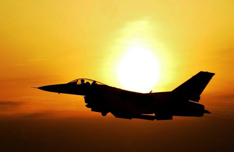F-16_American_Jet_Near_Taiwan_Chinese_Warning