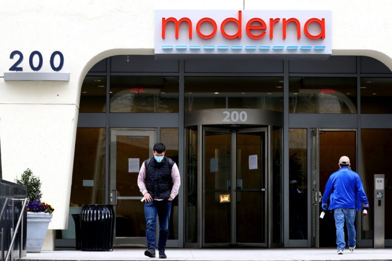 A view of Moderna headquarters on May 8, 2020 in Cambridge, Massachusetts. The current generations of Messenger RNA and Adenovirus Vector gene therapy vaccines for COVID-19 last about as long as the influenza injection, according to Wall Street Journal.